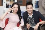 Chi Pu nhí nhảnh cùng Ngô Kiến Huy trong hậu trường The Voice Kids