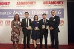 BIDV nhận các giải thưởng về kinh doanh tiền tệ