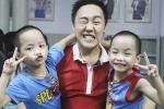 Trung Quân Idol chơi đùa hết mình cùng các bé mồ côi tại Huế