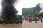 Cháy chợ ở cửa khẩu Tân Thanh: Thông tin mới nhất