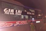 Truy tìm nhóm người ném đá tới tấp vào xe khách trên đường Hồ Chí Minh