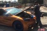 Người đàn ông tự chế tạo 'siêu xe' cho mình bằng 280 triệu đồng