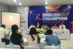 Hàng loạt điểm mới cuộc thi English Champion 2017