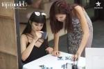 Hinh anh Minh Tu lien tiep roi vao top nguy hiem tai 'Asia's Next Top Model'