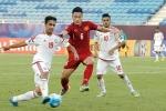 U20 Việt Nam đá thế nào khi thiếu Tiến Dụng?