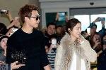 Bị đám đông bám theo làm phiền ở Bali, Kim Tae Hee và Bi Rain tới Mỹ du lịch