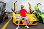 Bộ sưu tập siêu xe hàng trăm tỷ đồng của bạn trai Hạ Vi, Đặng Thu Thảo