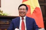 Phó Thủ tướng Phạm Bình Minh trao thư mời Tổng thống Mỹ Donald Trump thăm chính thức Việt Nam