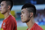 Công Phượng khoe kiểu tóc độc lạ ngày tái xuất ở Cup quốc gia