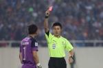 Vì sao Nguyên Mạnh bị đuổi khỏi sân trong trận bán kết Việt Nam-Indonesia?