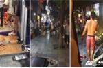 Côn đồ xông vào shop quần áo chém tới tấp hai người giữa phố cổ Hà Nội