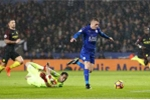 Vardy lập hattrick, Leicester City hủy diệt Man City