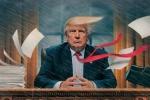Ông Trump 'trong mưa gió ở Nhà Trắng' lên bìa tạp chí TIME