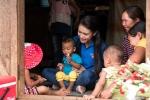 Người đẹp có học vấn 'khủng' nhất Hoa hậu Việt Nam tiếp nối dự án nhân ái ở Tây Nguyên