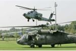 Mãn nhãn xem trực thăng vũ trang Apache, Black Hawk xả đạn trong tập trận ở Đài Loan