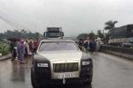 Sau Lamborghini, đến siêu xe Rolls Royce gây tai nạn chết người