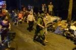 Thanh niên 'ngáo đá' ôm bình gas dọa đốt nhà