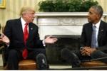 Video, ảnh: Ông Donald Trump nói gì trong 90 phút gặp gỡ Tổng thống Obama ở Nhà trắng?