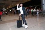 Vừa kết thúc 'Giọng hát Việt nhí', Noo Phước Thịnh vội vã ra sân bay sang Hàn Quốc