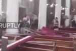 Clip: Nhà thờ ở Ai Cập tan hoang sau đánh bom