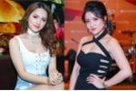 Hương Giang Idol trễ nải, đọ vòng một sexy với Thuỷ Top