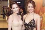 Ngọc Trinh đọ vẻ sexy bên đàn em 'ngực khủng' Linh Chi