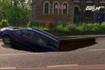 Clip: 'Hố tử thần' nuốt chửng ôtô đang đi trên phố