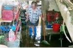 Clip: Dân Thủ đô sống chung với nước thải ngập nhà