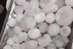 Mưa đá to bằng quả trứng gà trút xuống Lạc Dương, Trung Quốc