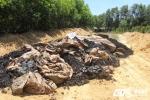 Chôn hơn 100 tấn chất thải của Formosa là vi phạm pháp luật về môi trường
