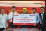 Tiết lộ vị khách trúng Jackpot 24 tỷ đồng 'trốn' gia đình đi lĩnh thưởng