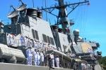 Tàu chiến Mỹ đến Đà Nẵng diễn tập tìm kiếm cứu nạn
