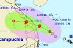 Bão số 4 hướng sắp vào đất liền, Quảng Nam - Đà Nẵng ra công điện khẩn