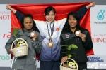 Trực tiếp bơi lội Sea Games 29: Ánh Viên giành 1 HCV, phá kỷ lục SEA Games