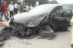 Tài xế Camry gây tai nạn liên hoàn trên quốc lộ