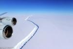 Tảng băng trôi lớn nhất lịch sử đã tách khỏi Nam Cực