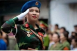 Tướng Võ Văn Tuấn lý giải quân hàm trung tá của nữ thiếu úy xinh đẹp
