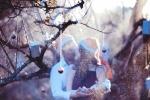 Ảnh cưới độc đáo của cặp đôi Hà Thành mùa Noel