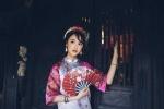 Á khôi Miss Du học sinh đẹp tinh khôi với áo dài truyền thống