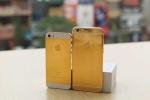Soi điện thoại iPhone SE mạ vàng giá nghìn USD tại Việt Nam