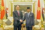 Toàn văn tuyên bố chung giữa Việt Nam - Brunei