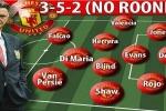 Man Utd áp sát top 4: Mourinho thành công nhờ ý tưởng của Van Gaal?