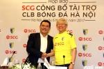 Hà Nội FC nhận tài trợ khủng từ tập đoàn Thái Lan