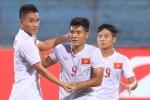 U19 Việt Nam thi đấu U19 Châu Á