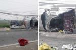 Đâm trực diện xe ngược chiều, tài xế thiệt mạng mắc kẹt trong cabin