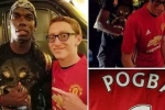 Pogba gây sốc khi ký lên áo đấu của Man Utd