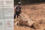 San phẳng mộ vợ vua Tự Đức làm bãi đậu xe: Cục Di sản Văn hóa vào cuộc