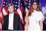 Cậu út nhà Trump ở lại New York học, chưa dọn đến Nhà trắng cùng cha