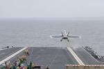 Video: Chiến cơ Mỹ cất cánh ngoạn mục từ tàu sân bay đắt nhất hành tinh