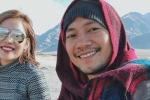 Chia tay Hari Won, Tiến Đạt và bạn gái hot girl đi du lịch nước ngoài